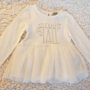 Tahari baby girl matching set